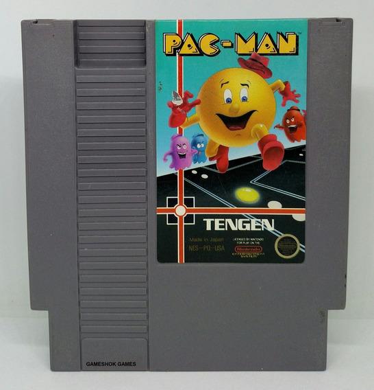 Pac Man Original Nintendo Nes + Capa Plastica