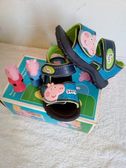 Sandália Peppa Grendene Kids Com Brinde 2 Fantoches N 20