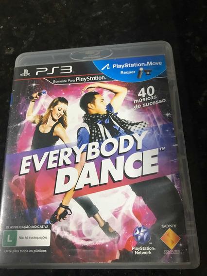 Jogo Ps3 Everybody Dance Original Mídia Física