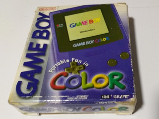 Nintendo Gameboy Color Grape