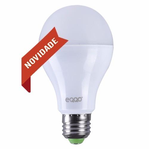. Lâmpada Super Led Bulbo Eqqo Branco- 10w Bi-volt E27
