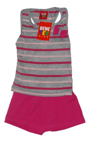 Roupa Infantil Menina Kit Com 10 Conjunto - Promoção 1 Ao 3