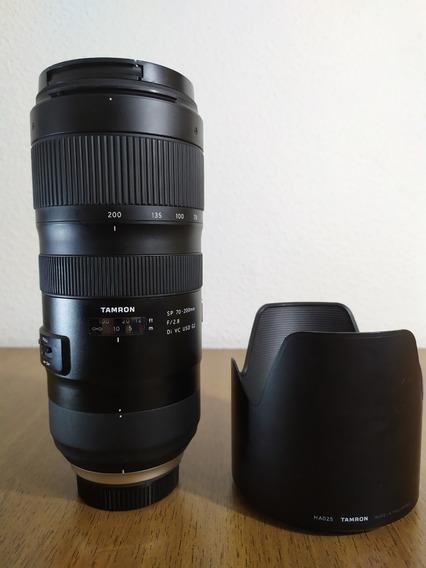Lente Tamron 70-200mm F/2.8 Di Vc Usd G2 P/ Nikon