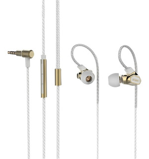 Auriculares In Ear Hd Remax Rm580 Microf Dual Driver Monitor