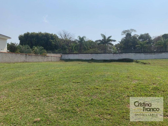 Terreno À Venda, 1000 M² Por R$ 250.000,00 - Condomínio Haras Pindorama - Cabreúva/sp - Te1093