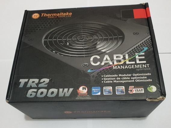 Fonte Thermaltake Tr2 600w - Cabeamento Fixo