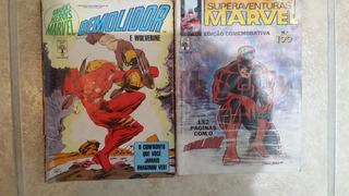 Demolidor Superaventuras Marvel 100 + Demolidor E Wolverine