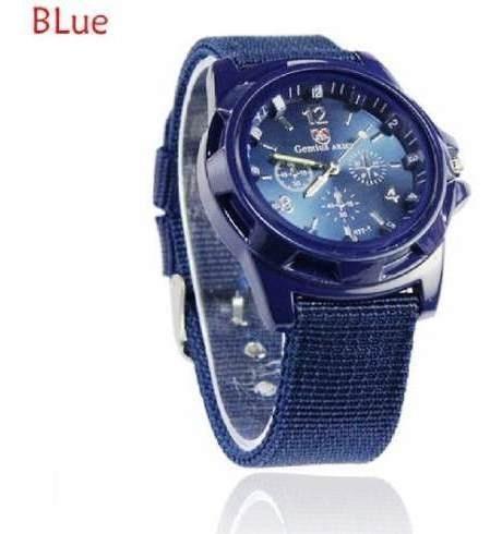 Relógio Analógico Azul Gemius Army