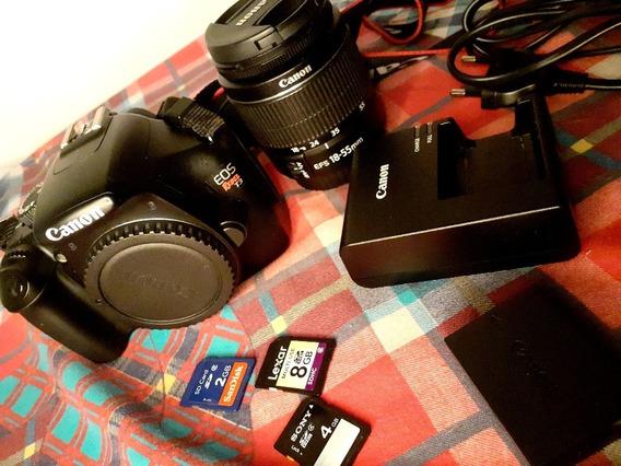 Câmera Fotográfica Canon Eos Rebel T3 Semi Profissional