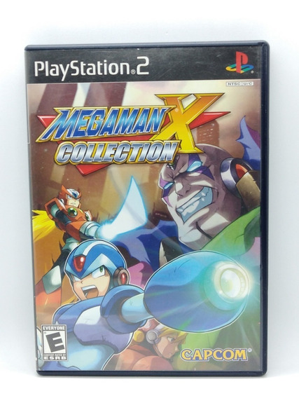 Mega Man X Collection Ps2 Midia Fisica Original Play 2 Jogo