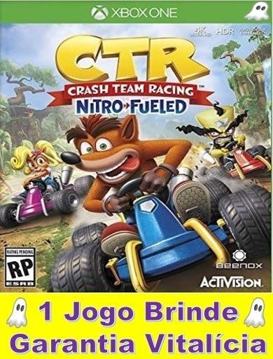 Crash Team Kart Xbox One Midia Digital Garantia Vitalícia