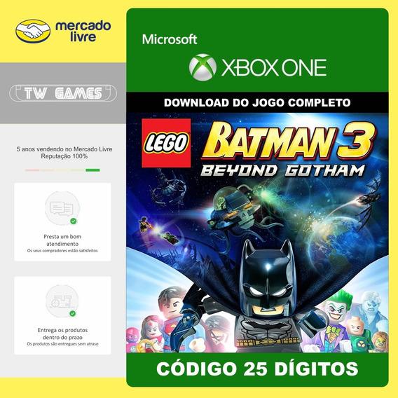 Lego Batman Além De Gotham Codigo 25 Digitos Xbox One
