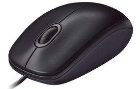 Mouse Usb Logitech M90 Opitico Preto Com Fio Ñ Microsoft Hp