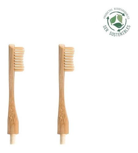 Imagen 1 de 2 de Recambio De Cepillo Naturbrush Headless, 100% Biodegradable
