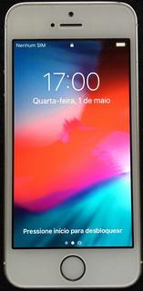 iPhone Se 64 Gb Prata Na Caixa Aceito Troca