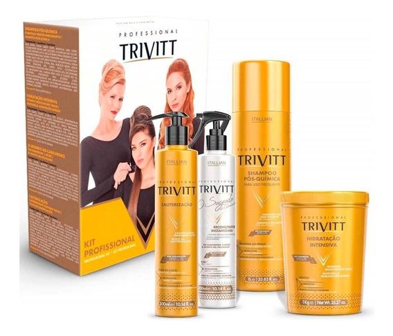 Kit Profissional Trivitt Itallian ( 4 Produtos )