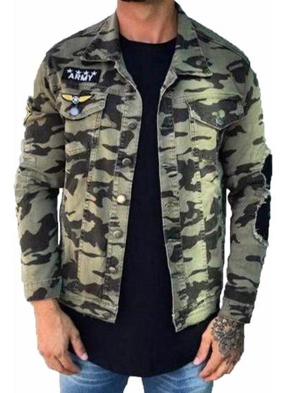 Jaqueta/blusa/casaco/ Militar Camuflada Masculina Destroyed