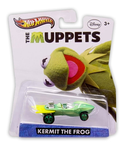 Hot Wheels Mattel The Muppets Kermit The Frog 2012 Y0765