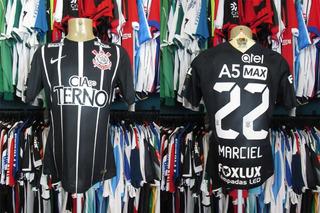 Corinthians 2017 Camisa Reserva Tamanho G Número 22 Marciel.