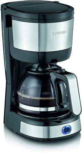 Cafetera Compacta De Acero Inoxidable Severin Ka 4808