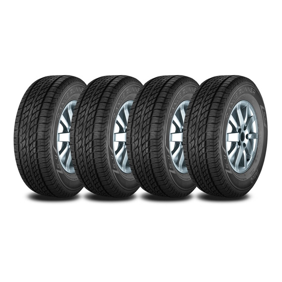 Kit 4 Neumaticos Fate 255/65 R17 114h Rr At Serie 4