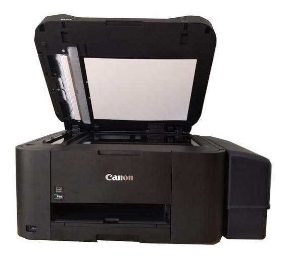 Multifuncional Jato De Tinta Colorida Canon Maxify Mb2110 Bulk Ink Grande Rende + 30 Mil Paginas Impressas Menor Custo