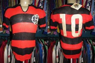 Flamengo 1979 Camisa Titular Tamanho G Número 10.
