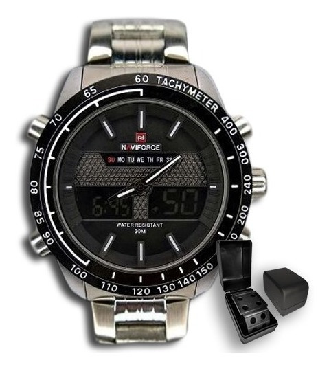 Relógio Masculino Naviforce Original Importado Luxo + Brinde