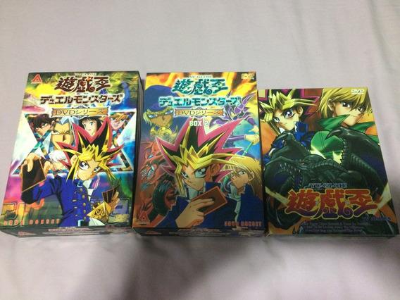 Coleção Yu-gi-oh 62 Episódios Dvd Box