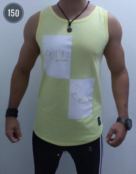 Camisetas Camisas Raglong Line Oversized Regatas Masculinas