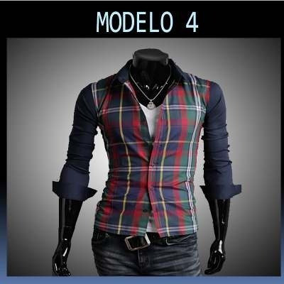 Camisas Pegadas Slim Fit Moda Japonesa * Fashion *