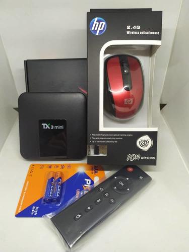 Tv Box Mouse Inalambrico Blister De Batería Aaa