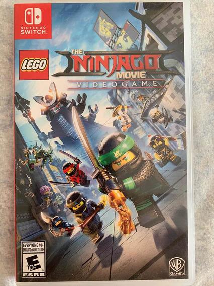 Jogo Lego Ninjago Para Nintendo Switch - Usado