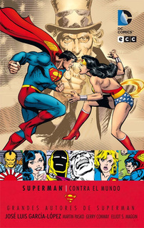 Superman Contra El Mundo - Dc Ecc Comics - Robot Negro