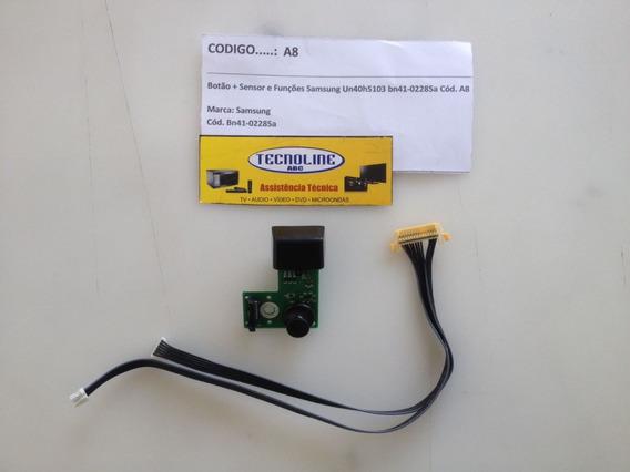 Botão+sensor E Funções Samsung Un40h5103 Bn41-02285a Cód.a8