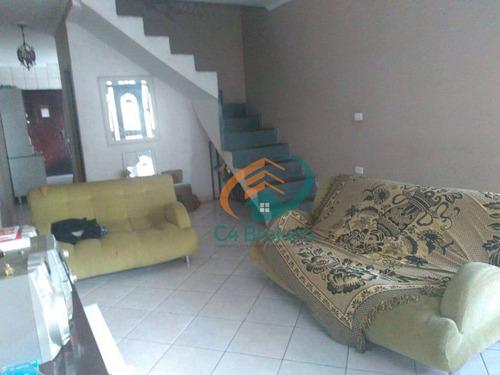 Imagem 1 de 27 de Casa Com 3 Dormitórios À Venda, 250 M² Por R$ 396.000 - Jardim Hanna - Guarulhos/sp - Ca0148