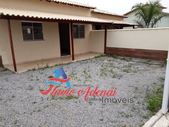 Casa 2 Quartos Próximo A Rodovia Em Unamar Cabo Frio - Fac 199 - 34132516