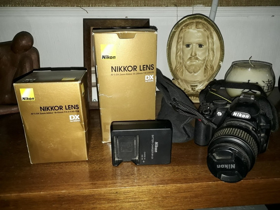 Câmera Fotográfica Semi Profissional Nikon D3100