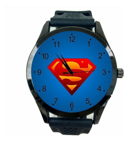 Relógio Super Homem Feminino Dc Liga D Justiça Heroi Hq T902