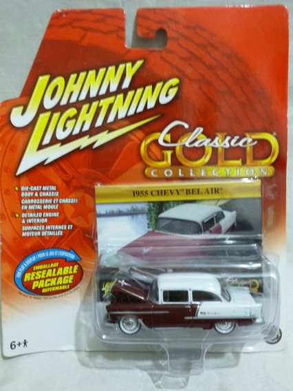 Johnny Lightning 1955 Chevy Bel Air - J P Cars