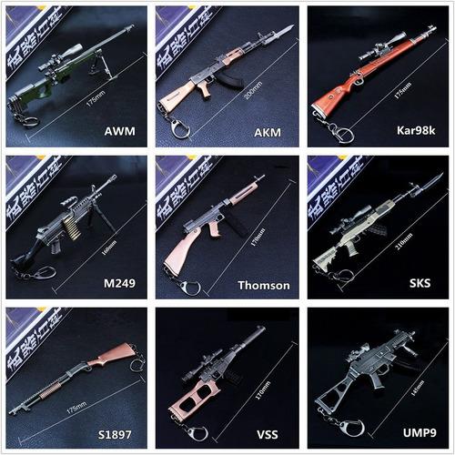 Llaveros Exclusivos De Armas Cross Fire