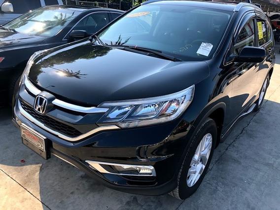 Honda Cr-v Ex-l Negra 2016