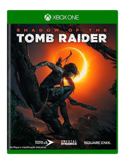 Shadow Of The Tomb Raider Xbox One Mídia Física Novo Lacrado