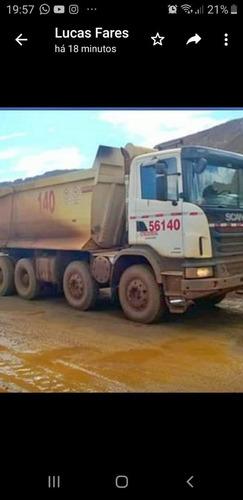Scania G440 8x4 Centopéia