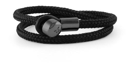 Brazalete Lucio Textil Negro Lctx-nn-txpro-1