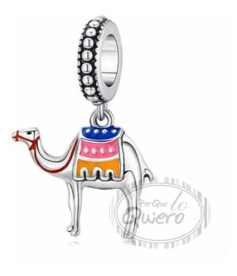 Charm 100% Plata 925 Dije Camello Egipto Arabe Para Pandora