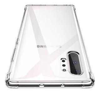 Capa Silicone Antichoque Cristal S9 S8 Plus S10 Note 10 +