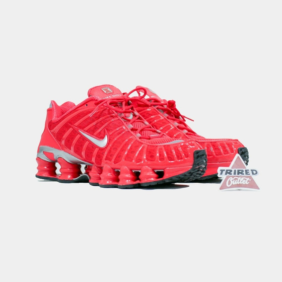 Nike Shox Tl Vermelho - Trired