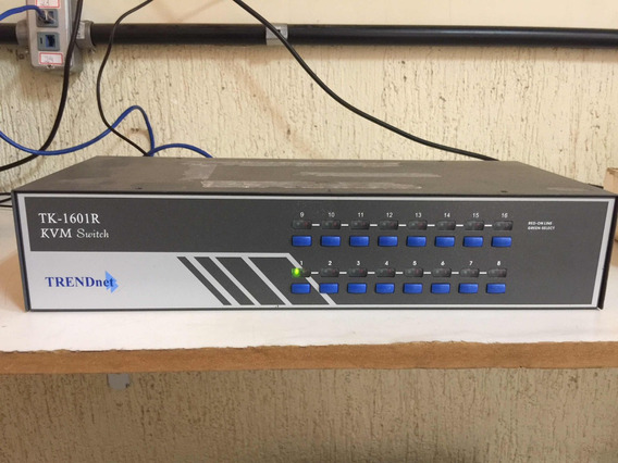 Kvm Tk-1601r Switch Trendnet