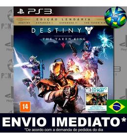 Destiny The Taken King Legendary Edition Ps3 Psn Promoção